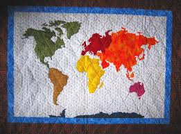 map quilt quilts for travelers map quilts more