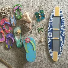 Flip Flop Wall Decor Find More Beach Themed Room Decor Super Cute Wind Chime Flip