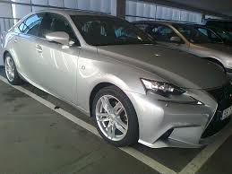 lexus is350 f sport in snow 17