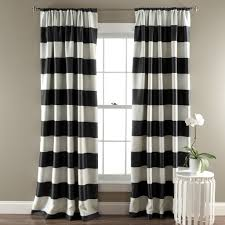 Wide Window Curtains by