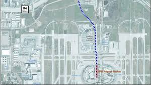 Dallas Fort Worth Airport Terminal Map by D Fw Airport Approves Tex Rail Station At Terminal B Nbc 5