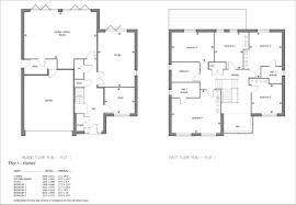 horton sales plans u2013 plot 1 georgian house developments