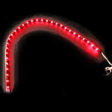 Led Strip For Car Interior Interior Led Car Lights Red 4 Piece Flexible Strip Lights Inside