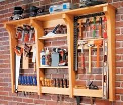woodshop storage ideas results for hand tool storage rack