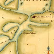 Albany New York Map by New York 1750s Mohawk Valley Lake Ontario Lake Champlain Old
