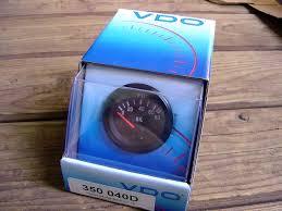 vdo gauges