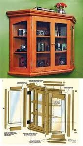 glazed display cabinet plans furniture plans and projects