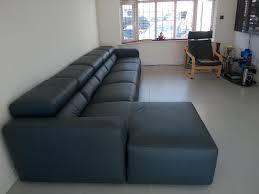 Chaise Lounge Sofa With Recliner Binari Electric Recliner Sofa With A Chaise Lounge Sofa In Acero