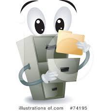 Free Filing Cabinet Filing Cabinet Clipart 74195 Illustration By Bnp Design Studio