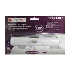 ge led under cabinet lighting shop utilitech 6 in battery under cabinet led light bar at lowes com