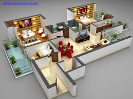 3 Bedroom House Plans In 1000 Sq Ft Plan Houses Type 45 One Floor 3 Bedrooms House Design Ideas