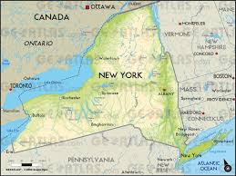 map new york geoatlas united states and canada new york map city