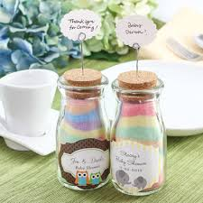 easy baby shower favors chalk and salt jar favor idea my practical baby shower guide
