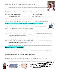 mythbusters worksheet free worksheets library download and print
