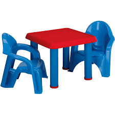 Childrens Folding Table And Chair Set American Plastic Toys Table And Chairs Walmart Com