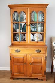 painted hutch makeover just a and her blog