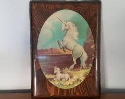 wooden photo album1980s prom 1980s unicorn etsy