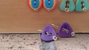 diy button earrings how to make and easy button earrings diy style tutorial