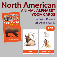 american animals alphabet cards for pdf