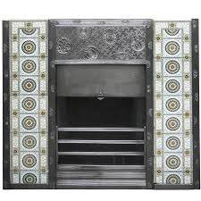 arts and crafts cast iron fireplace by c f a voysey made by