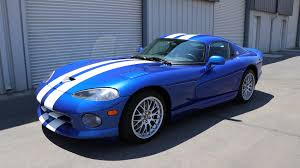 dodge viper 2017 interior 1997 dodge viper gts blue white stripes american supercars