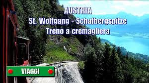 treno cremagliera austria st wolfgang schafbergspitze treno a cremagliera di