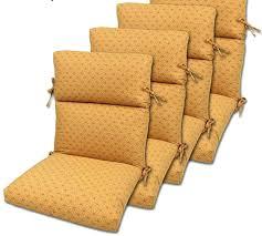Patio Chair Cushions Cheap High Back Garden Chair Cushions Quarry Replacement Outdoor