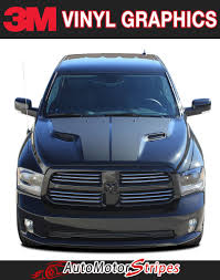 Dodge Ram 750 - ram hemi hood vinyl striping package brand new from