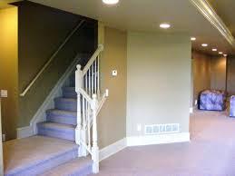 basement stairs railing colors stair ideas handrail wall basement