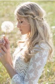 coiffure mariage boheme coiffure bohème chic vision féminine en 60 photos coiffures