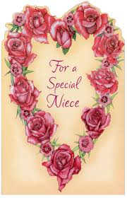 roses for valentines day heart of roses niece s day card by freedom greetings