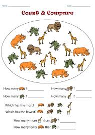 Compare Numbers Worksheet Letters Worksheet Free Kindergarten Math Worksheets Photo