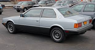 custom maserati sedan file 1985 maserati biturbo e rear left us jpg wikimedia commons
