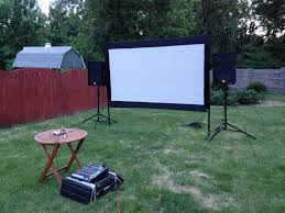 Backyard Projector Outdoor Movie Projector And Screen Rooms To Rent For Couples In