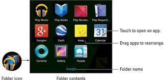 how to make folders on android how to build app folders on your android tablet dummies