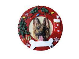 amazon com e s pets german shepherd personalized christmas amazon com e s pets german shepherd personalized christmas ornament pet supplies
