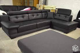 bon coin canapé cuir bon coin salon cuir 5 avec meubles canape d occasion et 595x394