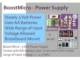 Diy Kit by Boostmicro 5 Volt Power Supply Diy Kit From Jouletime On Tindie