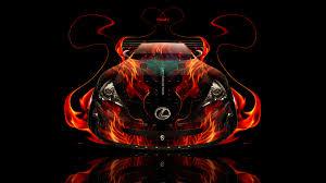 lexus lfa 2015 hd wallpaper lexus lfa fire abstract car 2014 el tony