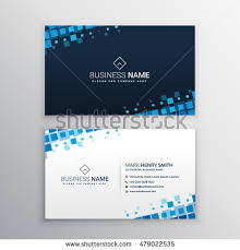Abstract Business Cards Business Card Abstract Industrial Building Factory Stock Vector