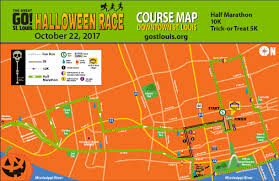 halloween horror nights 25 map great go st louis halloween race 10k u0026 5k fun run