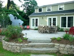 Patio Designs For Small Gardens Landscaping Patio Ideas Covered Patio Small Backyard Patio