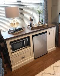 cabinet for microwave and small refrigerator cabinet ideas to build