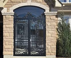 Patio Door Security Gate For Residential Applications Metalex Security Doors Security Gates And Window Guards