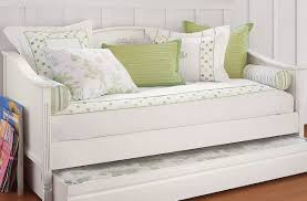 White And Cream Bedding Daybed Light Cream Bedding Idea For Black Coated Metal Daybed