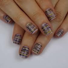 dental floss nail art tutorial video popsugar beauty