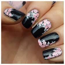 22 bold black nail designs more com