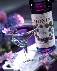 purple martini recipe monin violet syrup monin com