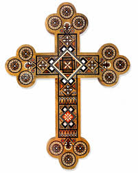 wooden wall crosses inlaid wooden wall cross with of pearl and at holy