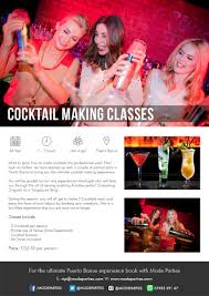 marbella cocktail classes in puerto banus group bookings welcome